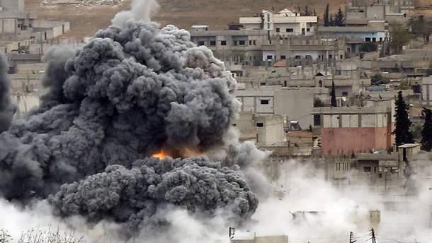 Бомбардування у Сирії