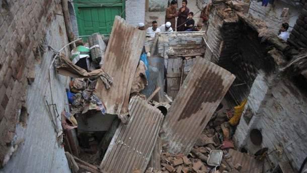 Землетрясение в Южной Азии