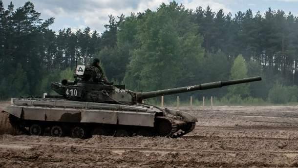 Военная техника в зоне АТО
