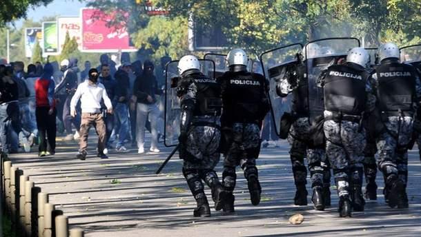 Протести у Чорногорії