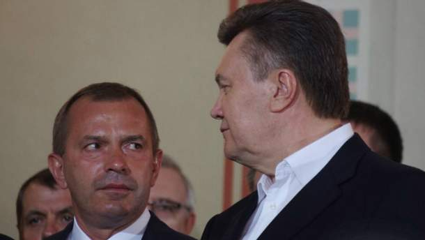 Андрей Клюев, Виктор Янукович