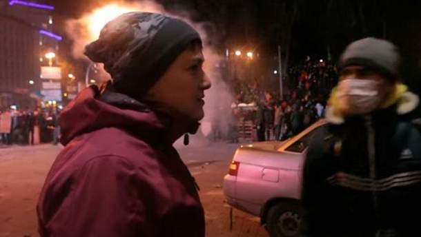 Надежда Савченко на Майдане