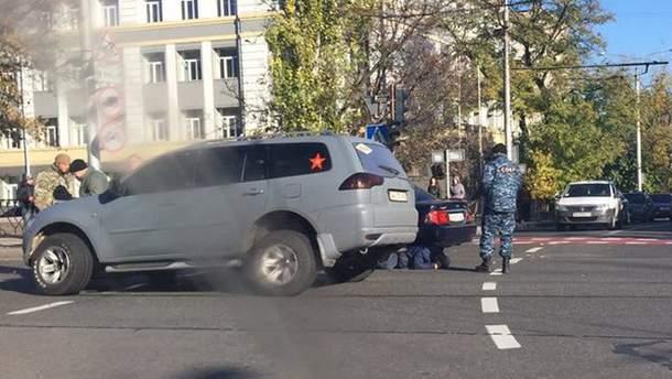 Авария в Донецке