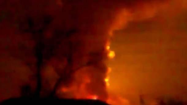 Пожежа і вибухи у Сватовому