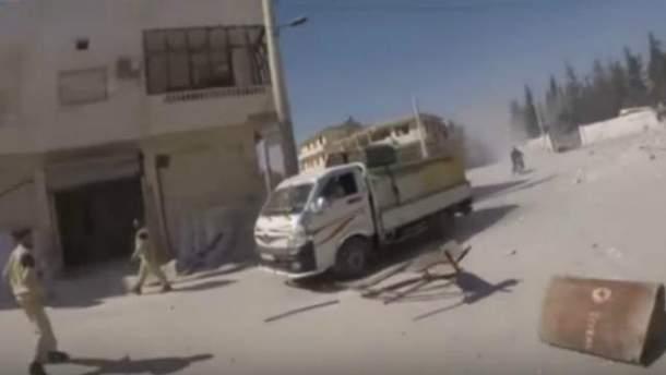 Авиаудар по больнице в Сирии