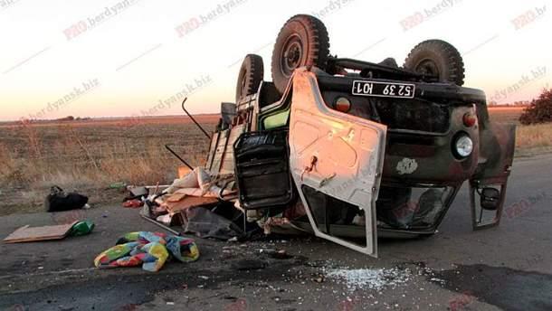 Аварія за участі військових