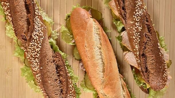 Трио фреш-сэндвичей от WOG