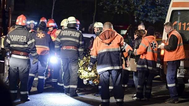Взрыв в Румынии