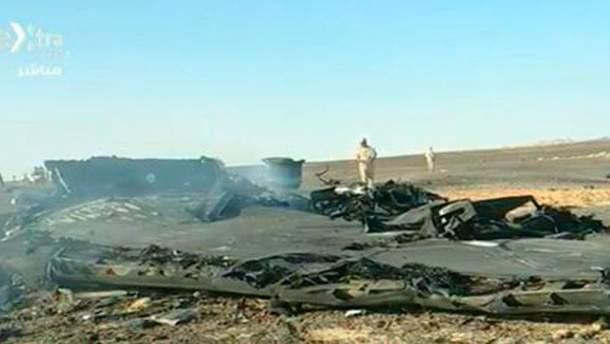 Катастрофа російського літака