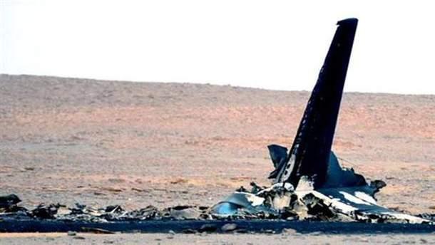 Обломки российского самолета в Египте