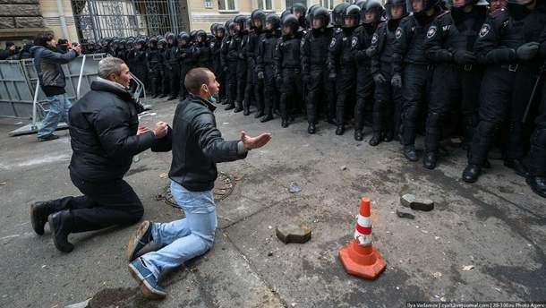 События на Евромайдане