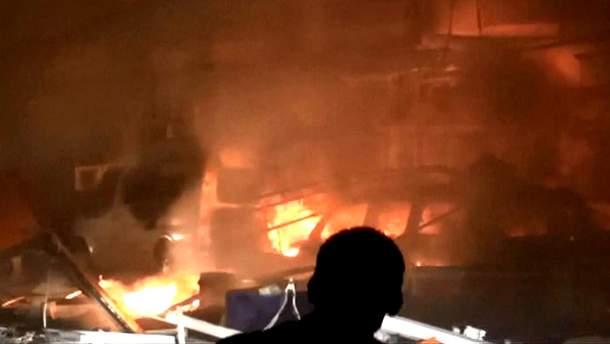 Взрыв в Нусайбине