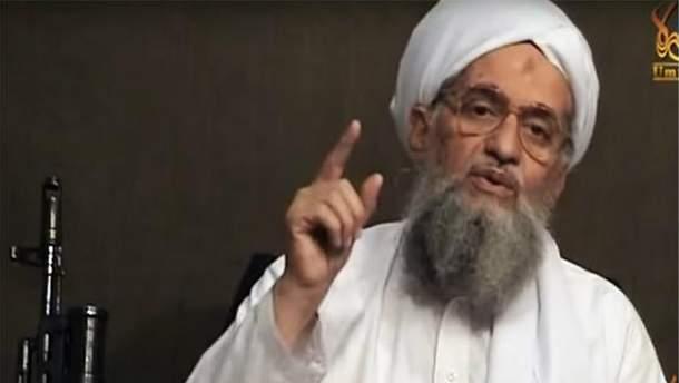 """Лідер """"Аль-Каїди"""" Айман Завахірі"""