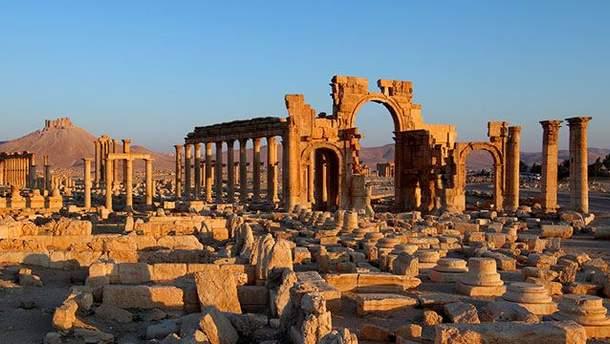 Исторический комплекс в Пальмире, Сирия