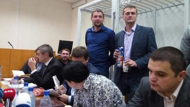 Андрей Лозовой, Владимир Парасюк и Игорь Луценко