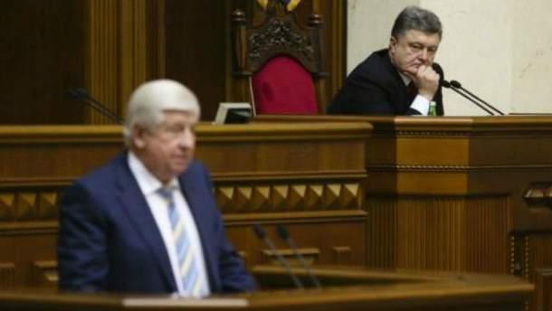 Виктор Шокин, Петр Порошенко