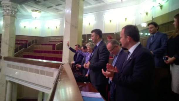 Депутаты Европарламента в Верховной Раде
