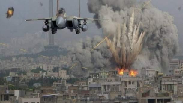 Россия бомбит сирийские города