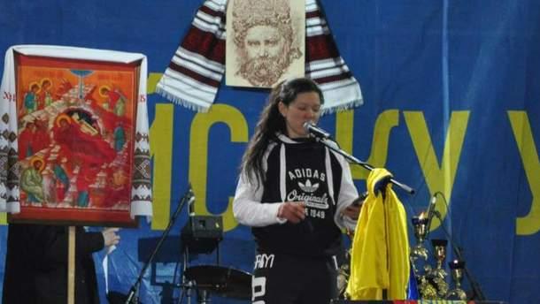 Руслана на Майдані