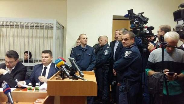 Олена Лукаш у суді