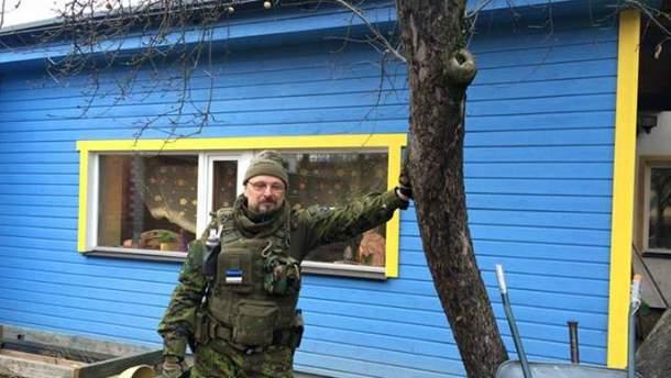 Эстонец перекрасил дом в знак поддержки Украины