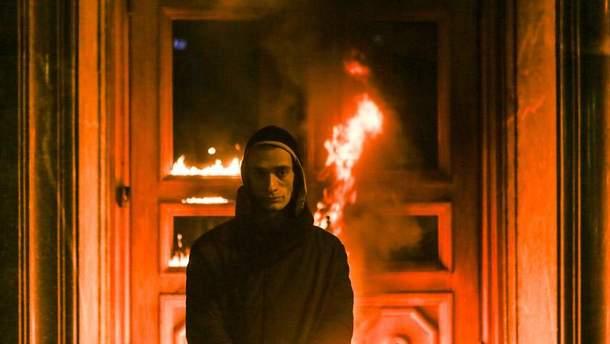 Павленський підпалив ФСБ