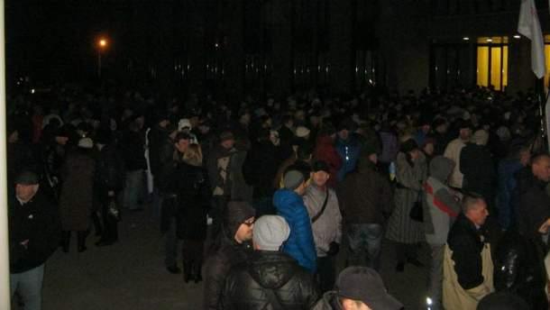 "Выборы онлайн: Вилкула представили мэром, собирается ""майдан"""