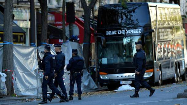 Аресты во Франции