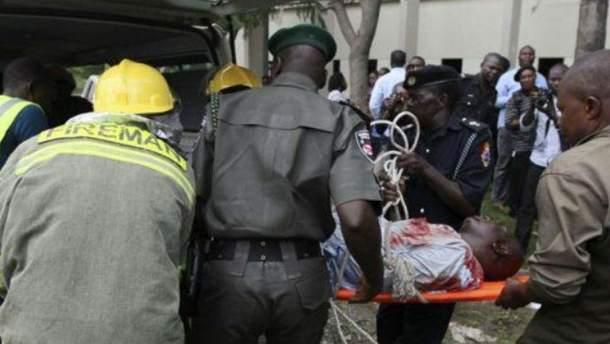Потужний вибух у Нігерії