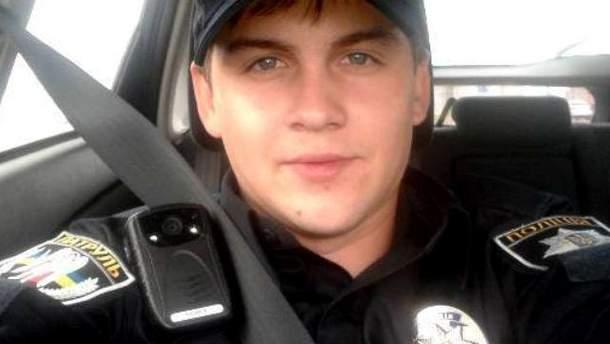 Скандального поліцейського, що зневажав майданівців, відсторонили