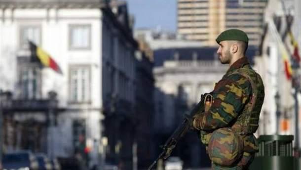 Бельгийский военный