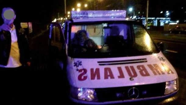 Місце інциденту у Львові