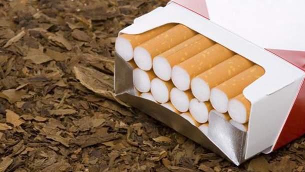 Пачка сигарет