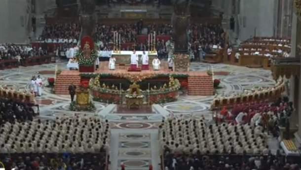 Різдвяна меса у Ватикані