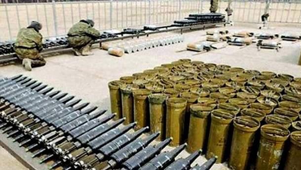 Склад с боеприпасами