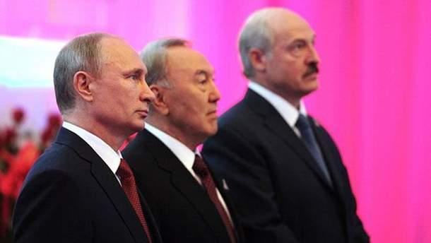 Лідери країн Митного союзу