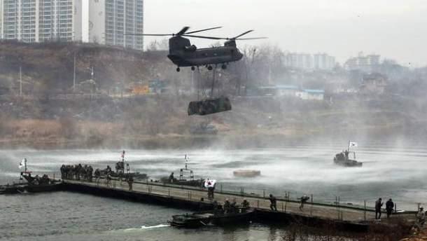 США продают оружие Южной Кореи