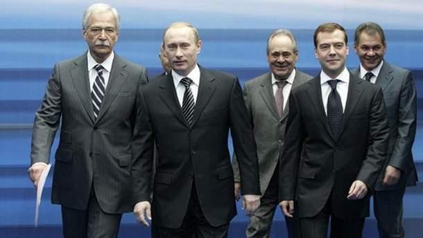 Гризлов, Путін і Медведєв