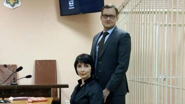 Елена Лукаш в суде