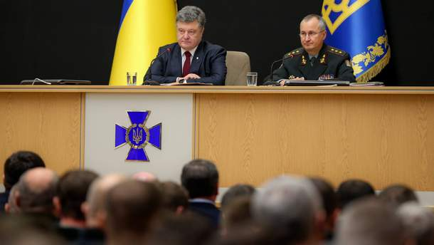 Петро Порошенко і Василь Грицак