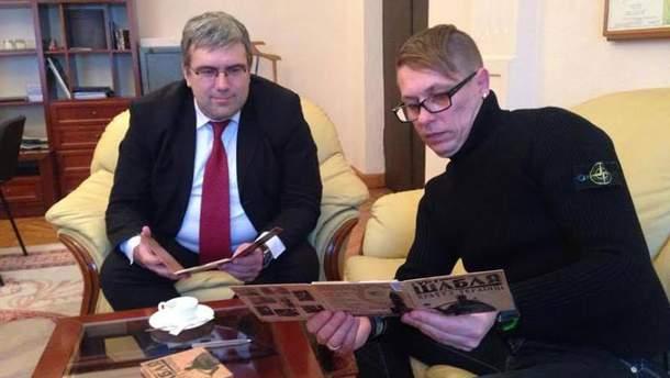 Вова Гейзер в Администрации Президента