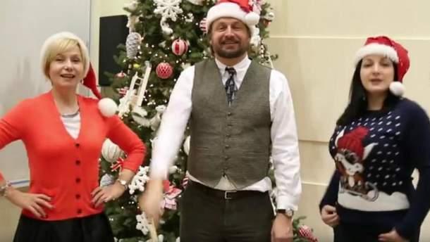 В посольстве США спели Jingle Bells