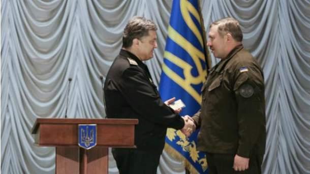 Петр Порошенко и Юрий Аллеров