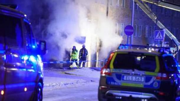 Взрыв в Стокгольме