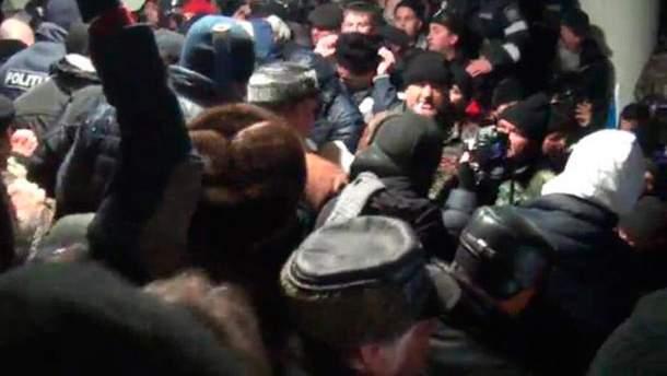 Протест в Молдове