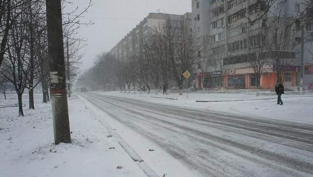 В Николаеве замерз военный