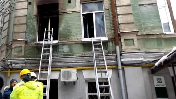 Пожар на улице Михайловской