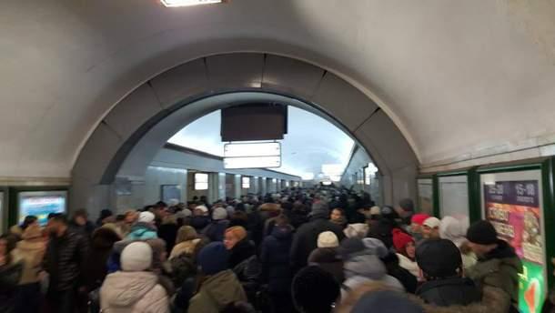 Колапс у метро