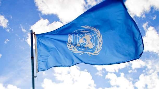 Прапор ООН