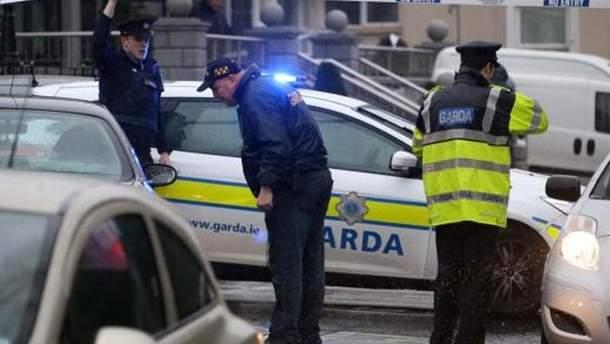 Поліція на місці стрілянини